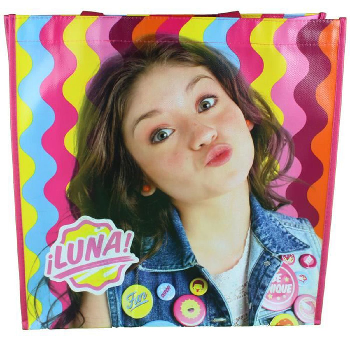 soy luna sac shopping fille achat vente sac shopping 3448411399578 cdiscount. Black Bedroom Furniture Sets. Home Design Ideas
