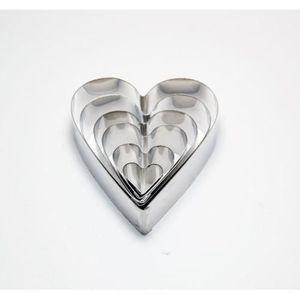 emporte piece coeur achat vente emporte piece coeur prix bas cdiscount. Black Bedroom Furniture Sets. Home Design Ideas