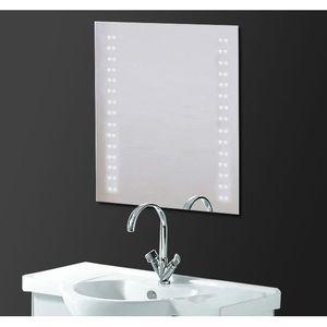 Miroir lumineux led salle de bains achat vente miroir - Miroir de salle de bain pas cher ...