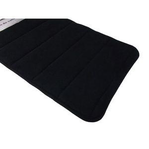 tapis salle de bains noir achat vente tapis salle de bains noir pas cher cdiscount. Black Bedroom Furniture Sets. Home Design Ideas