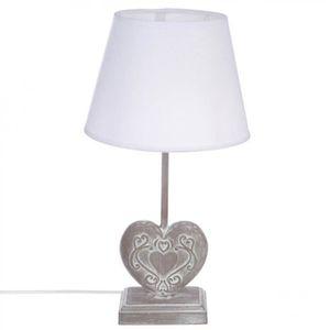 lampe a poser coeur achat vente lampe a poser coeur pas cher les soldes sur cdiscount. Black Bedroom Furniture Sets. Home Design Ideas