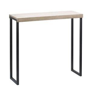 console meuble 90 cm achat vente console meuble 90 cm pas cher cdiscount. Black Bedroom Furniture Sets. Home Design Ideas