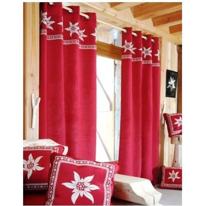 rideau deco montagne elegant tringle bton de ski cm with rideau deco montagne simple rideau. Black Bedroom Furniture Sets. Home Design Ideas
