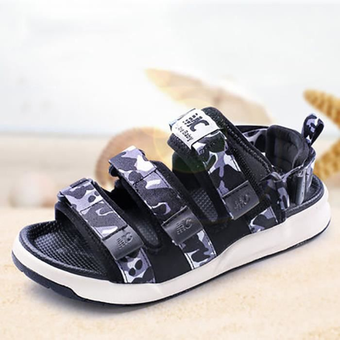 enfant sandales b b gar ons fille velcro chaussures de. Black Bedroom Furniture Sets. Home Design Ideas