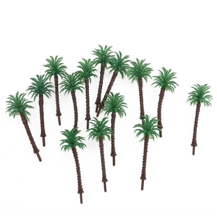 14pcs mini faux arbre cocotier d cor paysage achat vente fleur artificielle cdiscount. Black Bedroom Furniture Sets. Home Design Ideas