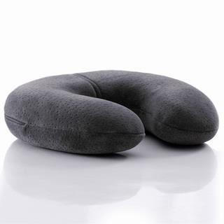 oreiller de voyage tour de cou gris anthracite achat vente oreiller de voyage 5705940264578. Black Bedroom Furniture Sets. Home Design Ideas