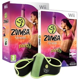 JEUX WII ZUMBA FITNESS JOIN THE PARTY + CEINTURE