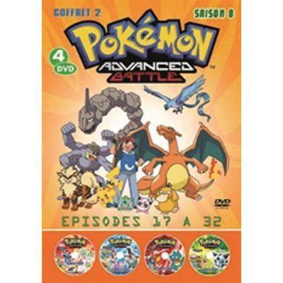 Dvd pokemon saison 8 vol 2 en dvd manga pas cher - Pokemon saison 14 ...