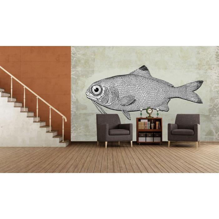 Papier peint poisson achat vente papier peint poisson - Achat papier peint ...