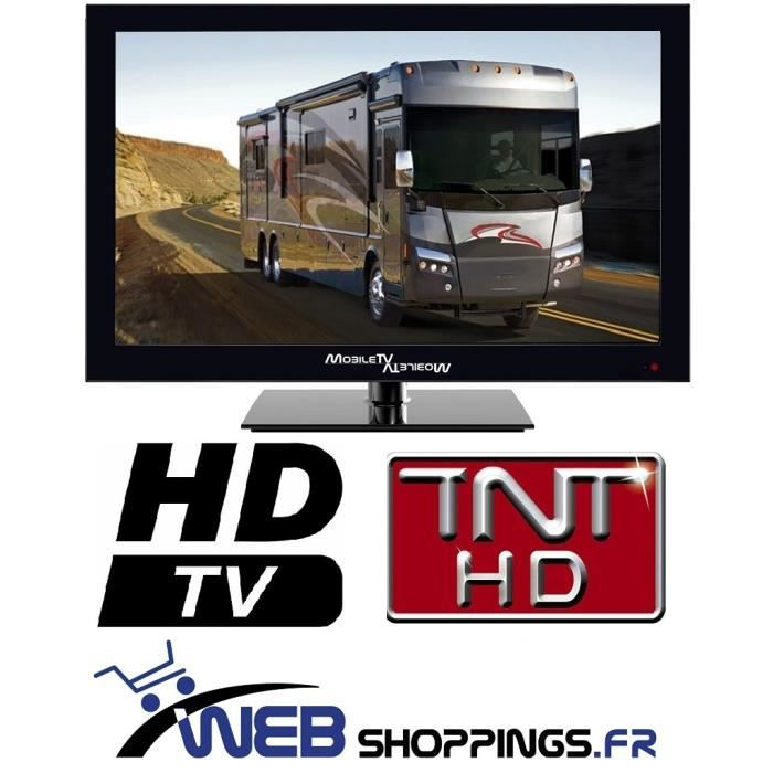 television tv led 39 6cm 16 tnt hd tnthd usb camion camping car 12v 24v 12 24 volts neuf. Black Bedroom Furniture Sets. Home Design Ideas