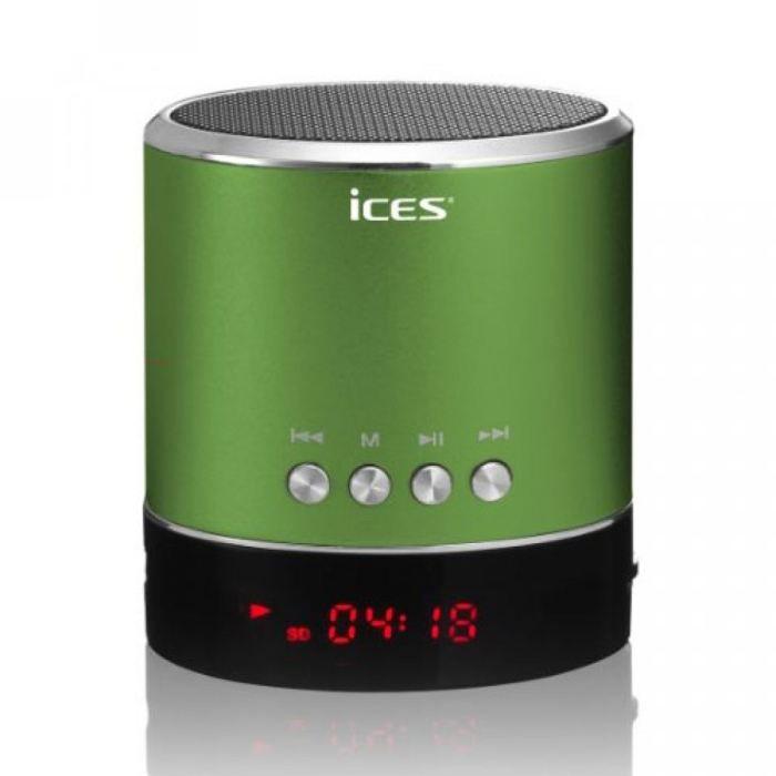 enceinte portable vert avec port micro sd et usb enceintes prix pas cher cdiscount. Black Bedroom Furniture Sets. Home Design Ideas