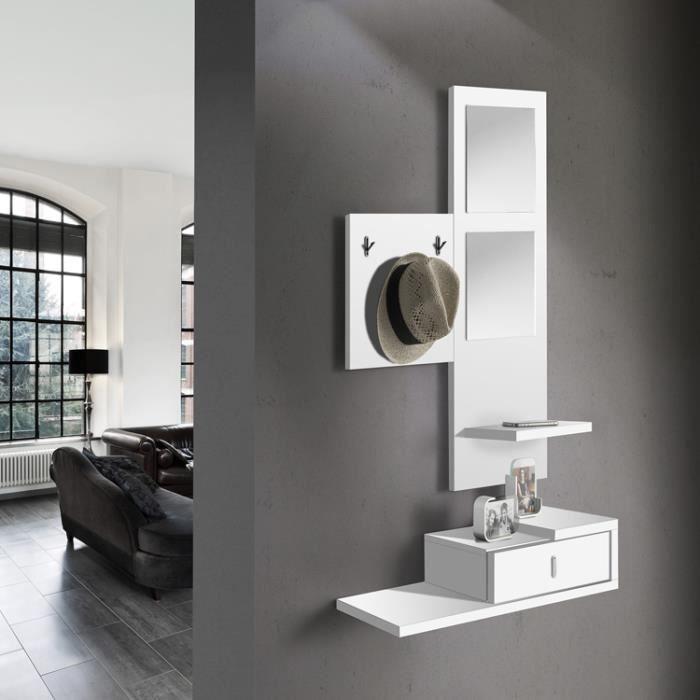 Ensemble d 39 entr e miroir mural cintres salle achat - Miroir d entree design ...