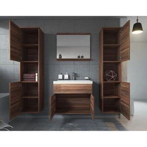 meuble salle de bain metal et bois achat vente meuble salle de bain metal et bois pas cher. Black Bedroom Furniture Sets. Home Design Ideas