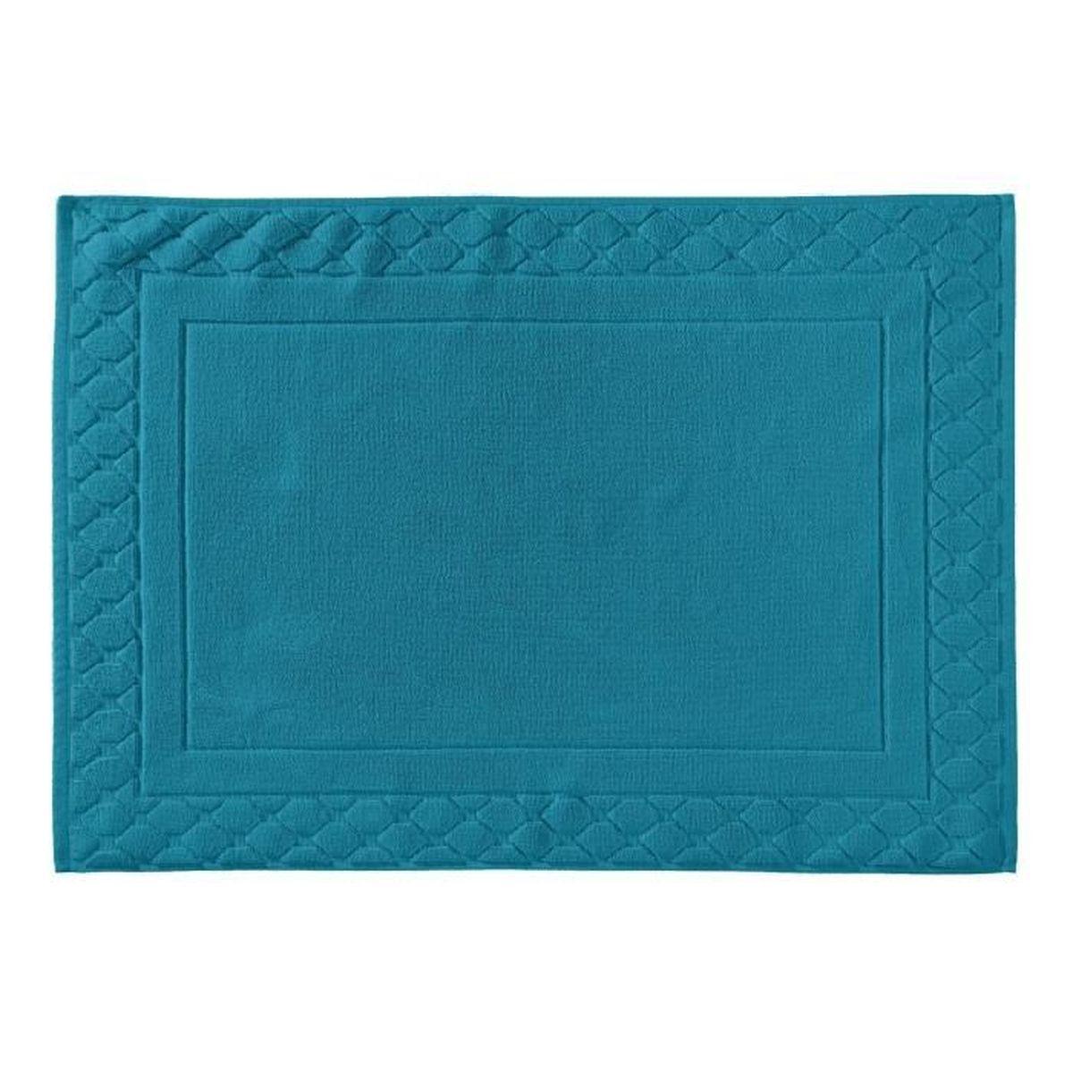 Tapis de bain la mousseuse 60 x 80 jade achat vente tapis de bain cdiscount Tapis de bain mousse memoire