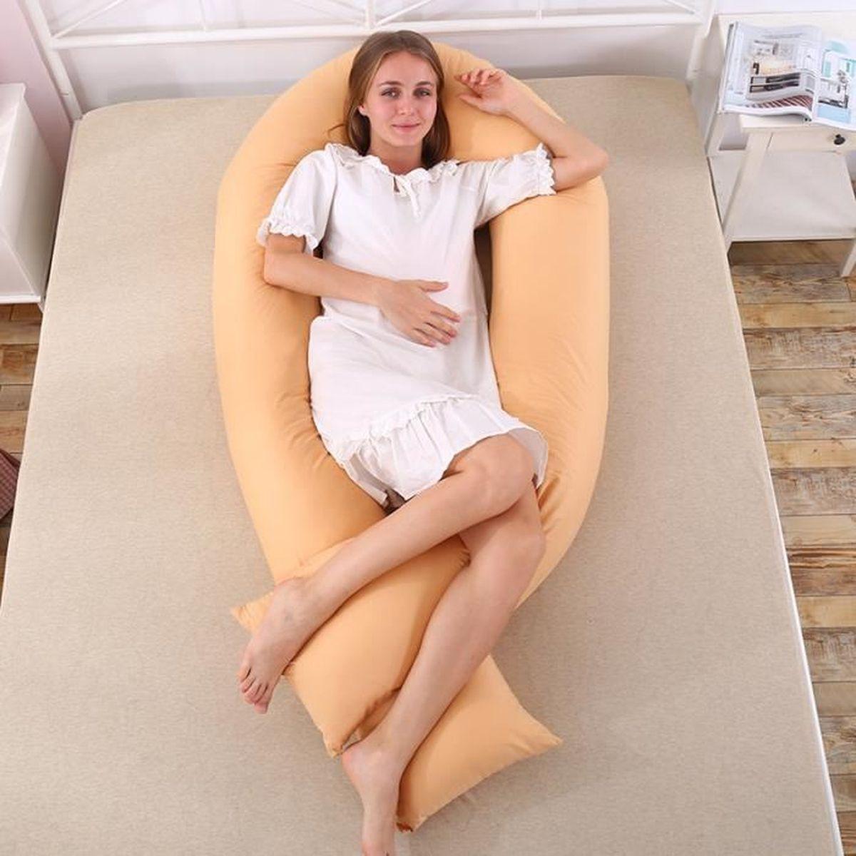 grand type u confortable coussin de maternit. Black Bedroom Furniture Sets. Home Design Ideas