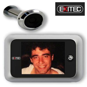 JUDAS - ŒIL DE PORTE Caméra Judas Grand Ecran 3,5 pouces LCD Numérique
