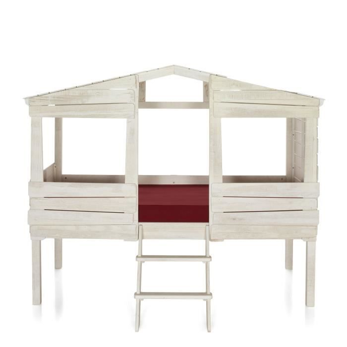 lit cabane moins cher. Black Bedroom Furniture Sets. Home Design Ideas