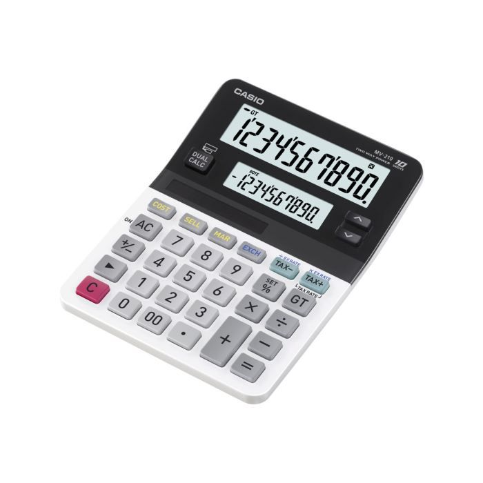 casio mv 210 calculatrice de bureau 10 chiffr achat vente calculatrice casio mv 210. Black Bedroom Furniture Sets. Home Design Ideas