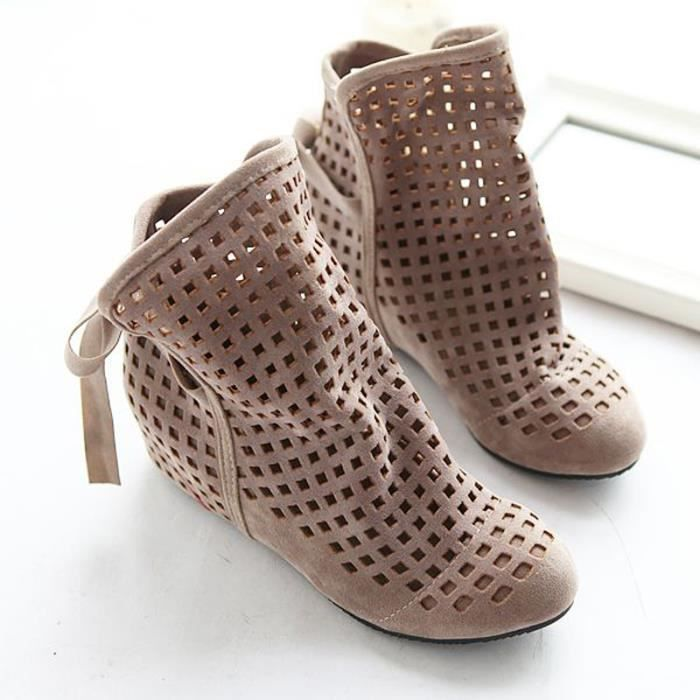 chaussures r bottes ajourees