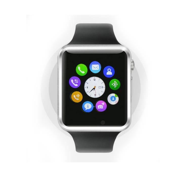 Smartwatch avec appareil photo t l phone cran tactile for Photo ecran telephone