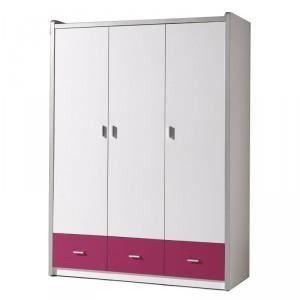 paris prix armoire 3 portes bonny fuchsia achat. Black Bedroom Furniture Sets. Home Design Ideas