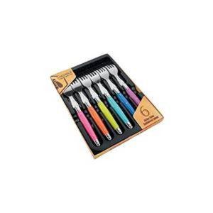 fourchettes laguiole couleurs achat vente fourchettes laguiole couleurs pas cher les. Black Bedroom Furniture Sets. Home Design Ideas