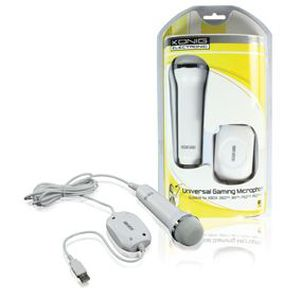 CASQUE  - MICROPHONE Microphone universel kÖnig pour XBOX 360 , Wii ,