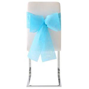 noeud de chaise bleu achat vente noeud de chaise bleu pas cher cdiscount. Black Bedroom Furniture Sets. Home Design Ideas