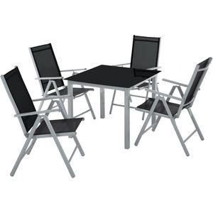 table pliante en verre achat vente table pliante en verre pas cher cdiscount. Black Bedroom Furniture Sets. Home Design Ideas