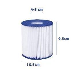 3 filtres cartouches pour piscine filtres type 39 d 39 lot de 3 cartouches en polyester et. Black Bedroom Furniture Sets. Home Design Ideas