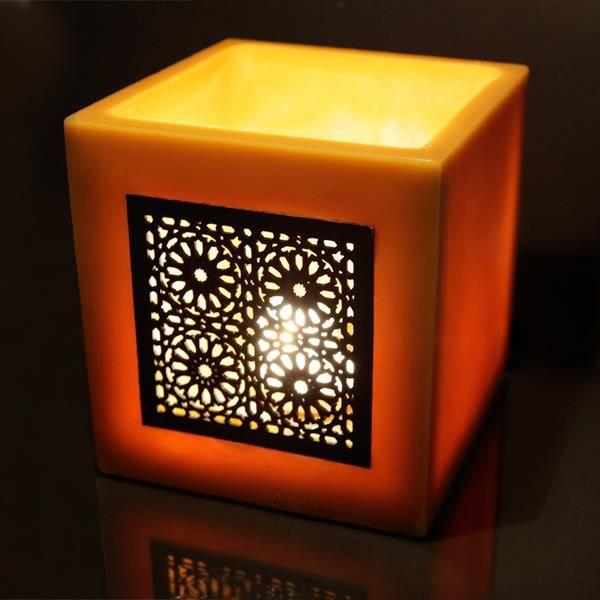 photophore en cire l019 l019 h020 d000 achat vente photophore lanterne cdiscount. Black Bedroom Furniture Sets. Home Design Ideas