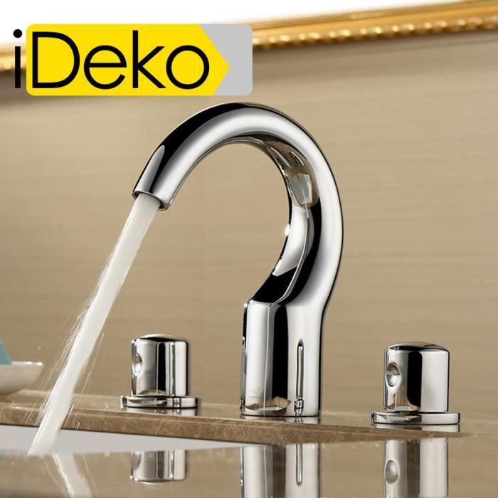 ideko robinet mitigeur lavabo salle de bain baignoire en. Black Bedroom Furniture Sets. Home Design Ideas