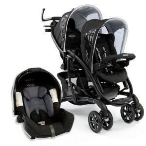 poussette double graco quattro tour duo 1 coque junior baby achat vente poussette. Black Bedroom Furniture Sets. Home Design Ideas