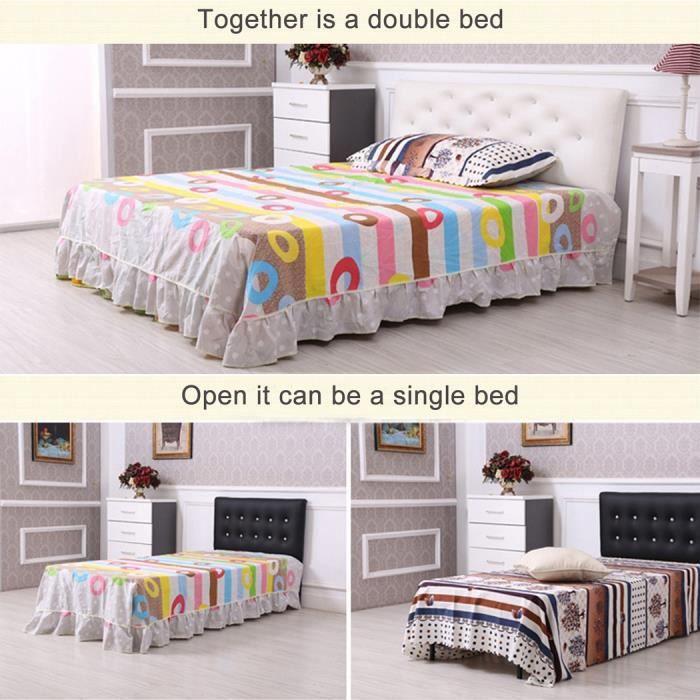 homdox meubles lit cadre de lit m tal pliant lit plate forme cadre achat vente structure de. Black Bedroom Furniture Sets. Home Design Ideas