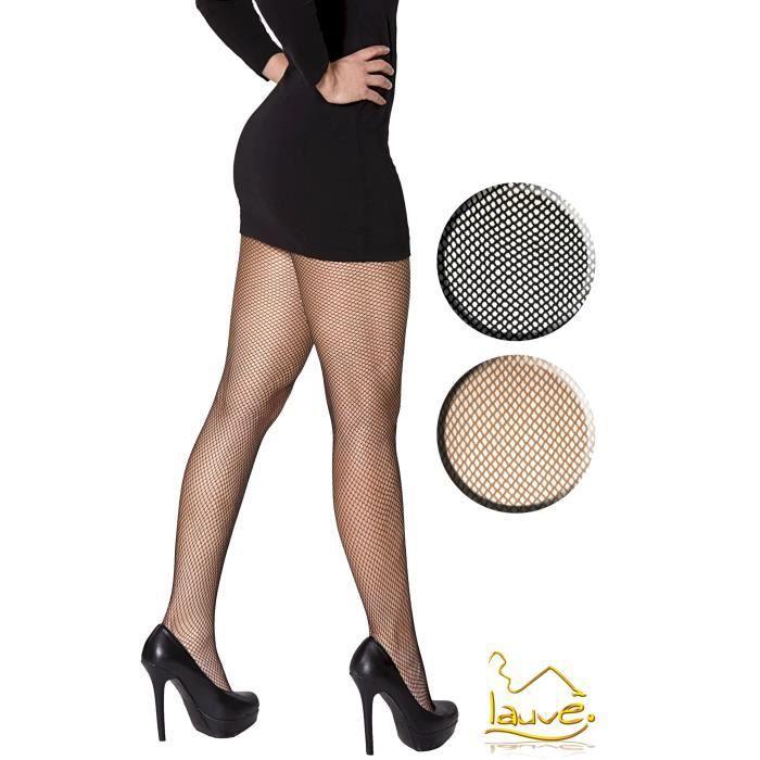 1 paire de collants resille noir noir achat vente collant cdiscount. Black Bedroom Furniture Sets. Home Design Ideas
