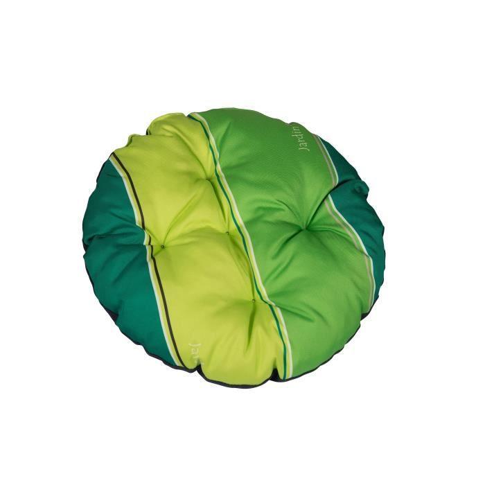 Coussin de chaises jardin en vert achat vente coussin - Coussin d exterieur pas cher ...