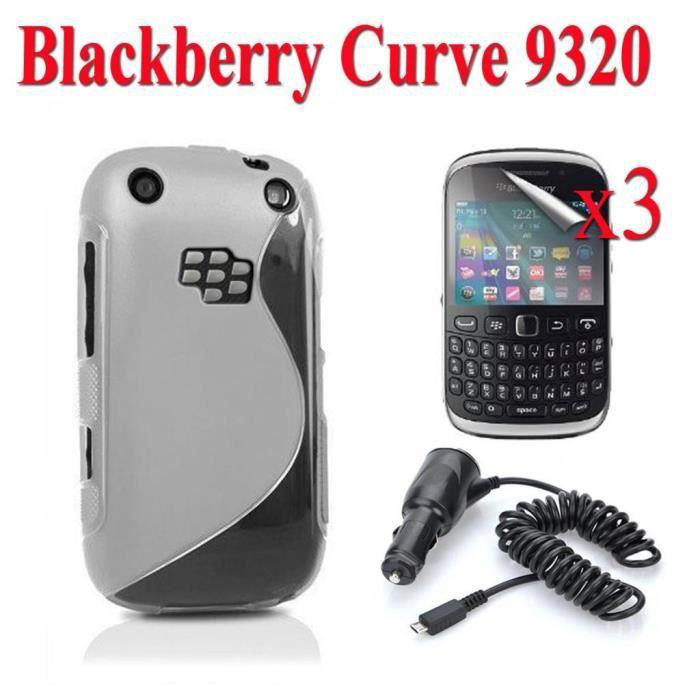 Lot 5 accessoires blackberry curve 9320 achat vente for Housse blackberry curve