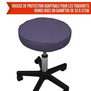 housse de tabouret achat vente housse de tabouret pas cher cdiscount. Black Bedroom Furniture Sets. Home Design Ideas
