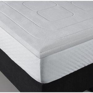 surmatelas memoire de forme 140x190 achat vente surmatelas memoire de for. Black Bedroom Furniture Sets. Home Design Ideas