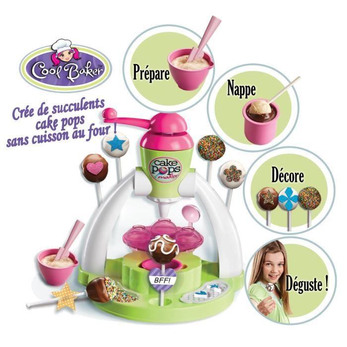 CUISINE CRÉATIVE - JEU CULINAIRE COOL BAKER La Fabrique De Cake Pops