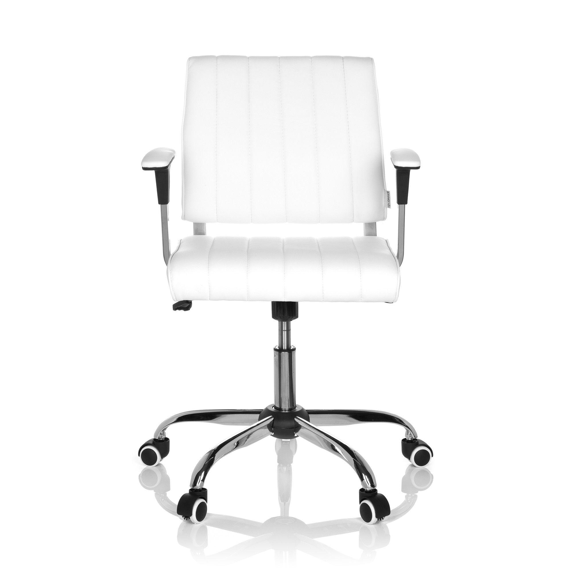 Chaise de bureau chaise pivotante fernando pu achat for Chaise de bureau cuir blanc