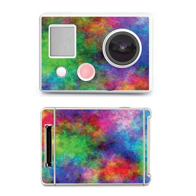 skin stickers pour gopro hero sticker tissu achat vente film de protection cdiscount. Black Bedroom Furniture Sets. Home Design Ideas