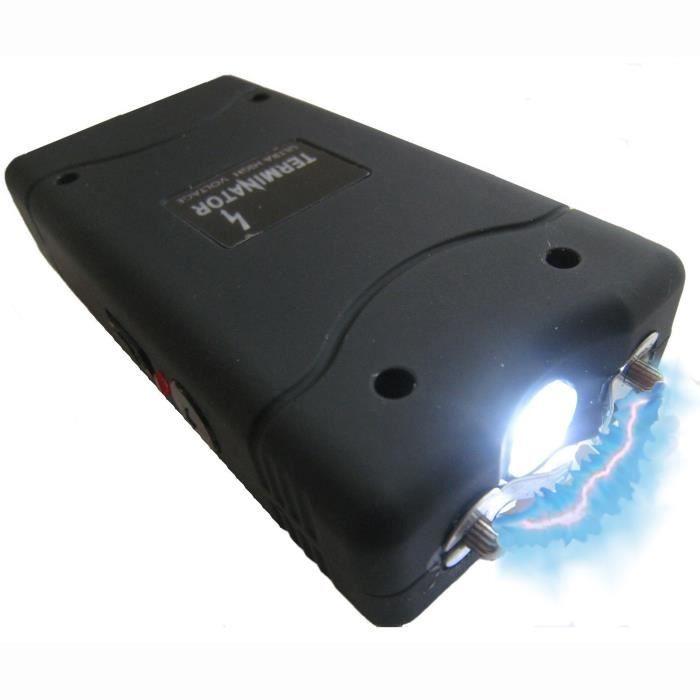 Shocker lectrique 15 000 000 volts rechargeable prix - Lampe torche taser ...