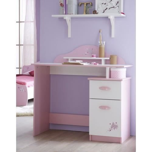 bureau papillon rose achat vente bureau b b enfant. Black Bedroom Furniture Sets. Home Design Ideas