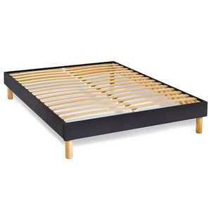 sommier 160x200 cm achat vente pas cher les soldes sur cdiscount cdiscount. Black Bedroom Furniture Sets. Home Design Ideas