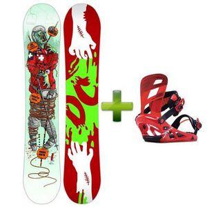 PLANCHE DE SNOWBOARD Spyne 90 Chaussure Ski Vert
