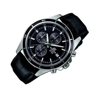 casio montre quartz chronographe efr526l1avuef homme noir tendance achat vente montre cdiscount. Black Bedroom Furniture Sets. Home Design Ideas
