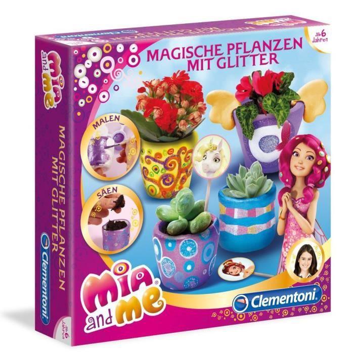 mia et moi mia and me des jeux cr atifs pour enfants plantes magiques avec des paillettes. Black Bedroom Furniture Sets. Home Design Ideas