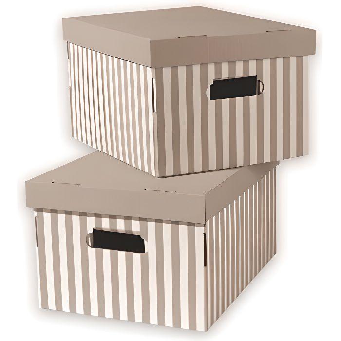 Boîte de rangement - Tiroir marron - Achat / Vente Boîte de rangement - Tiroir marron pas cher ...