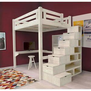 Lit enfant achat vente lit enfant pas cher cdiscount page 222 - Escalier cube mezzanine ...